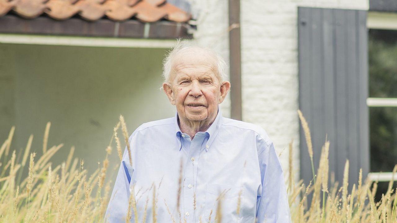 Leopold Lippens, chez lui, au Zoute, le 24 août 2020.