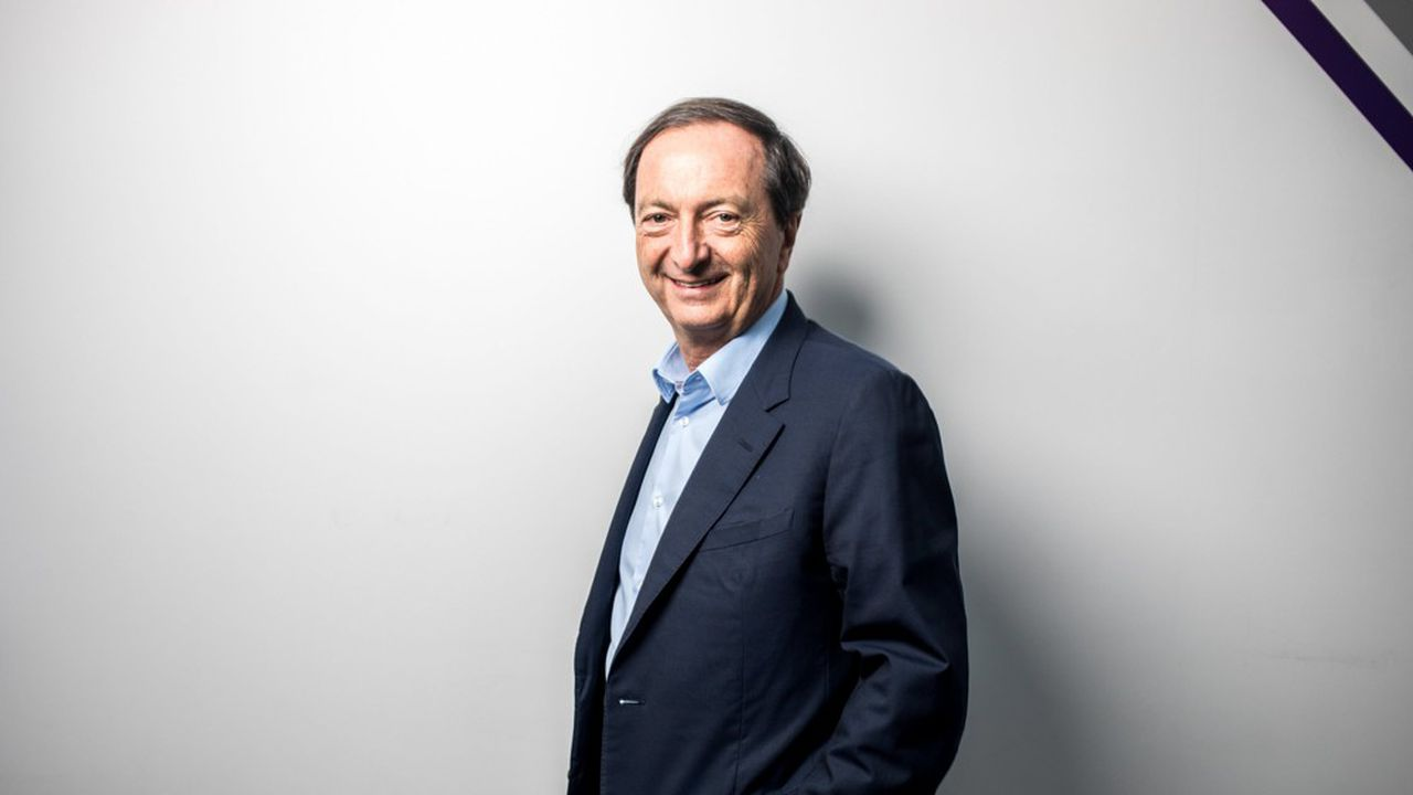 Michel Edouard Leclerc, président des Centres E.Leclerc