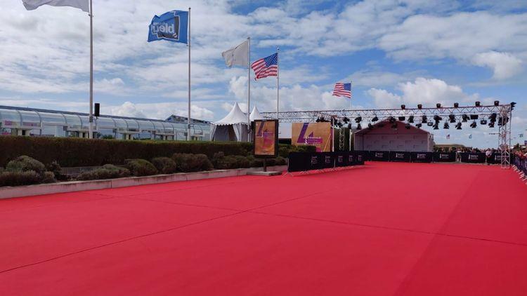 Un tapis rouge fréquenté essentiellement par des Français, cette édition 2020.