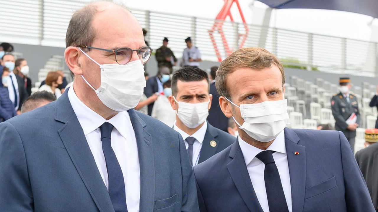 Avec le plan de relance, Emmanuel Macron et Jean Castex, visent à retrouver en 2022 le niveau de richesse d'avant la crise.