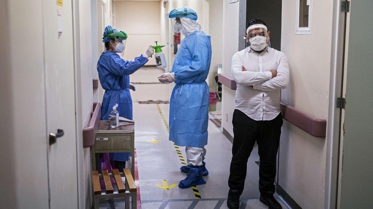 Les soignants mexicains ont payé le plus lourd tribut dans le monde, avec plus de 1.300 victimes du Covid-19 dans leurs rangs.