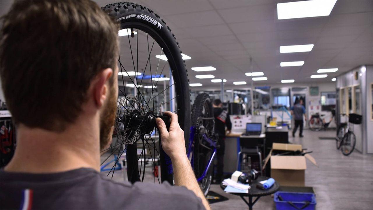 La Manufacture française du cycle (MFC) tourne à plein régime depuis la fin du confinement.