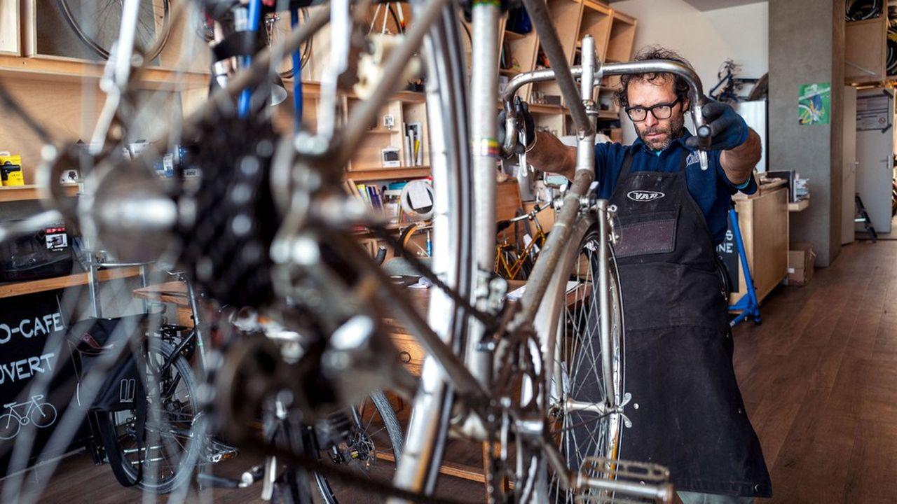 Les clients se sont rués sur les marchants de vélos ces derniers jours.