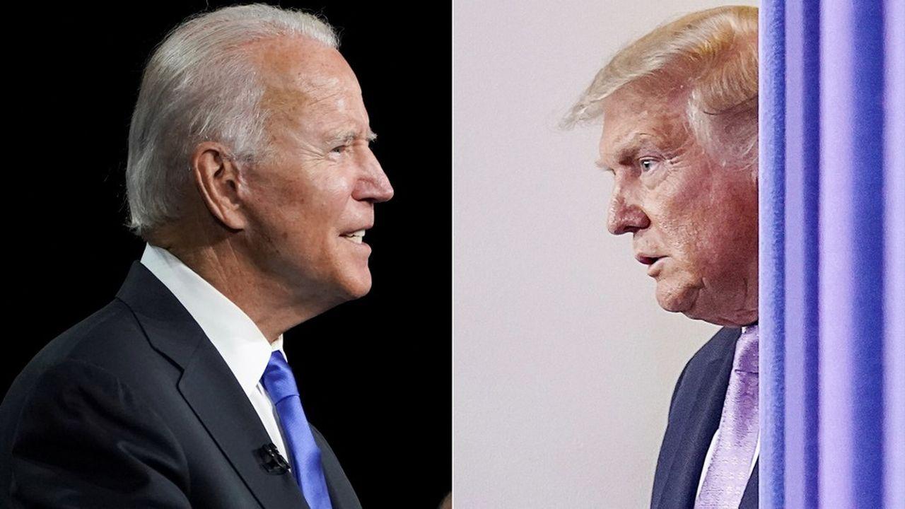 Joe Biden ou Donald Trump? Un menaçant face-à-face pour l'élection du 3novembre alors que l'actuel président pourrait contester, semble-t-il, le résultat s'il n'est pas déclaré vainqueur.