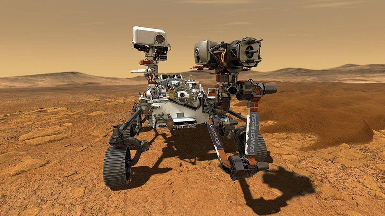 Le rover Perseverance, envoyé par la NASA sur Mars en 2020.SIPA/2006181255