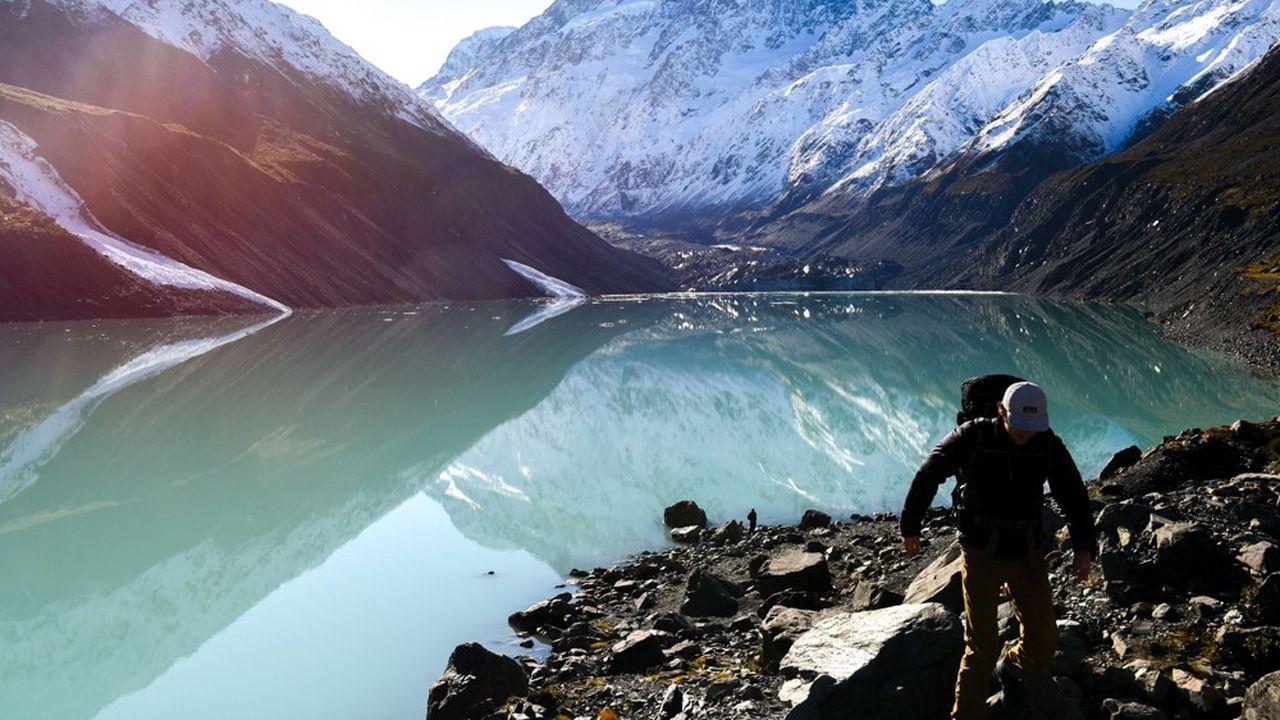 Un lac de montagne en Nouvelle-Zélande (photo d'illustration).