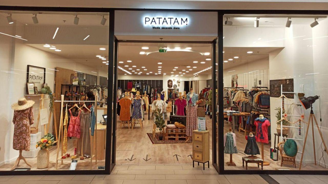 La clientèle, de la première boutique de Patatam dans un centre commercial à Anglet, est de tous âges.