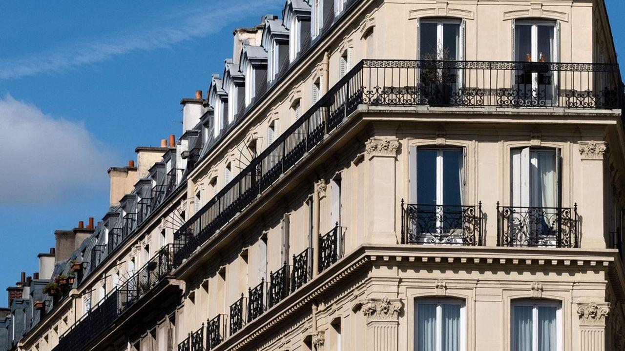 Les recherches de logements à louer à Paris ont chuté de 23% entre le 11mai - date du déconfinement - et le 31août 2020 comparés à la même période de l'année précédente.