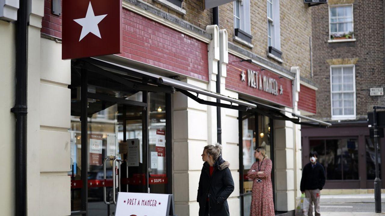 Pret A Mangera annoncé la semaine dernière le licenciement de 2.890 personnes et la fermeture d'une trentaine de points de vente.