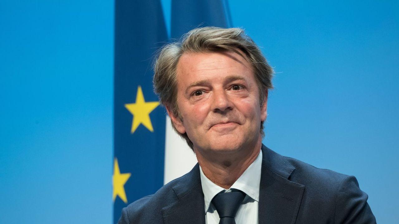 François Baroin aux «rendez-vous de la jeunesse» LR à Port-Marly.