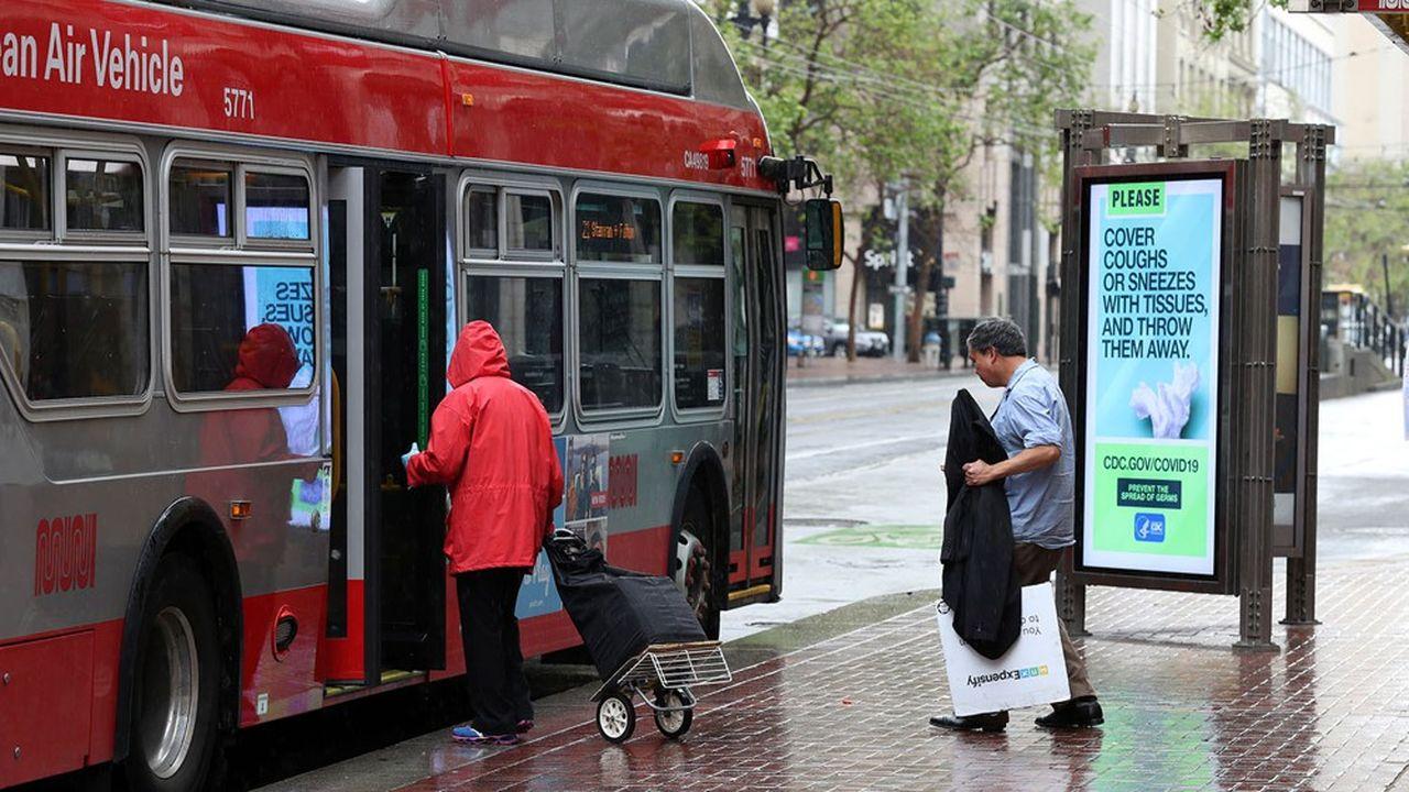 Après l'arrêt de 40 lignes sur 70 à San Francisco au début de la pandémie, une vingtaine a été rajoutée. Justin Sullivan/Getty Images/AFP