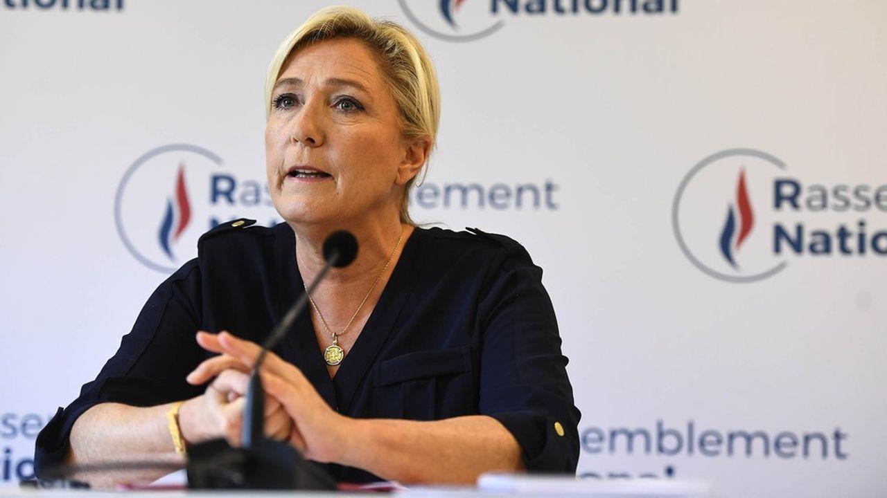 Pour Marine Le Pen la retraite à 60 ans avec 40 annuités est tenable si la politique économique est axée sur l'emploi.