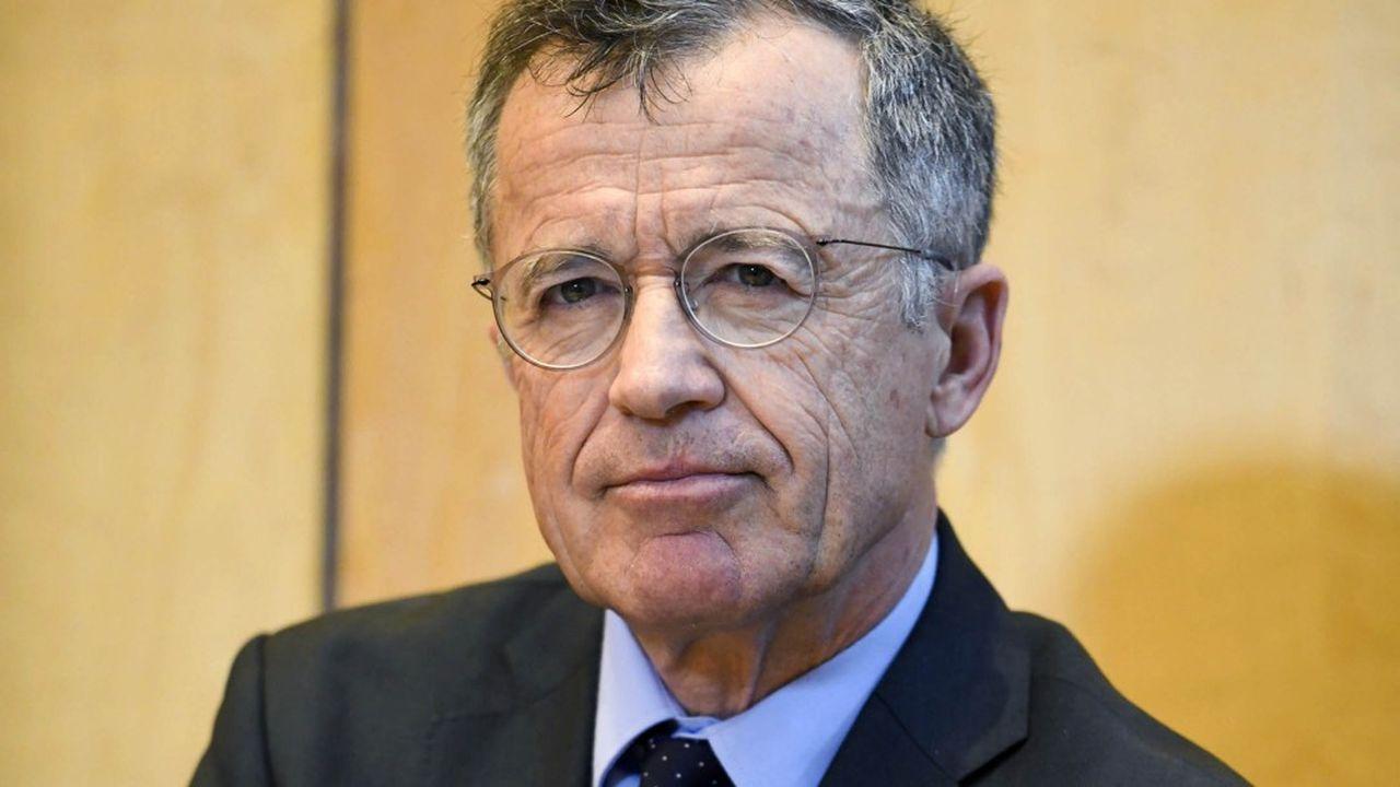 Philippe Darmayan, president de l'UIMM, l'Union des industries et metiers de la metallurgie.