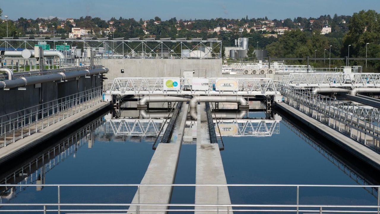 Inauguration d'Aqua Lyon, nouvelle station d'epuration de la Feyssine.