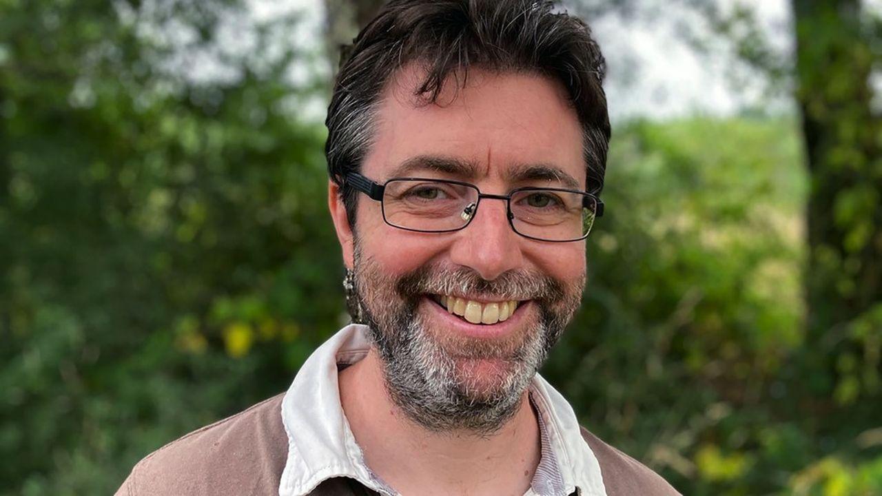 Davy Cremer, le président de la société rennaise Cognix Systems.