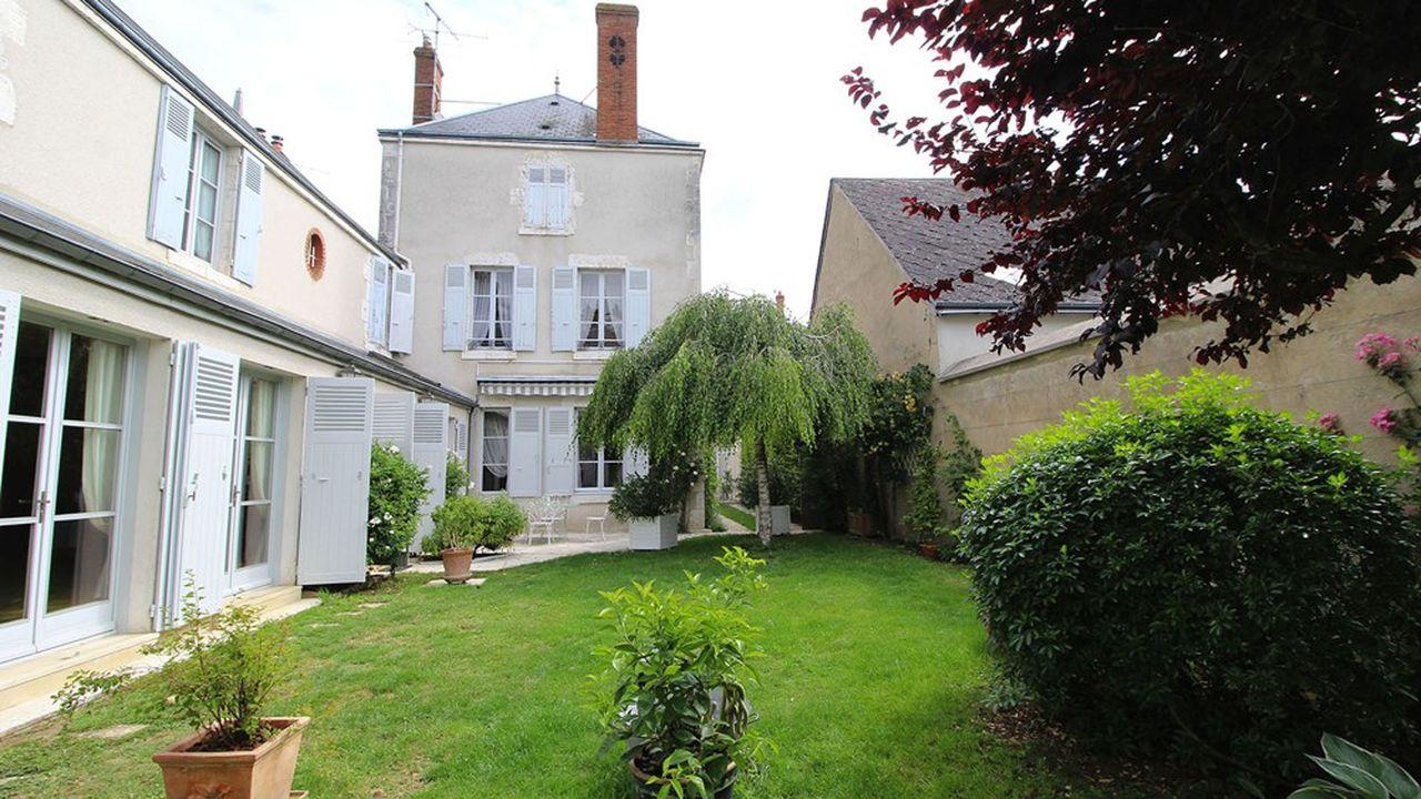 Une maison de ville entre Orléans et Blois