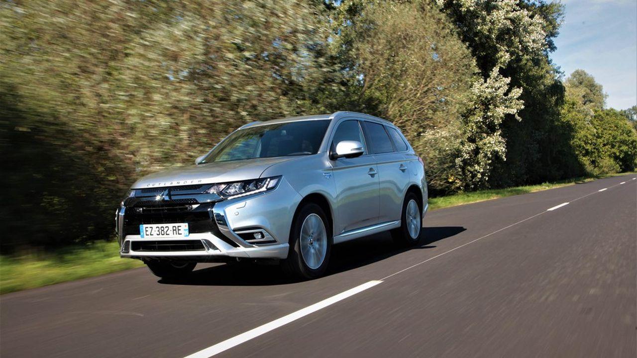 Le SUV Mitsubishi Outlander PHEV est le véhicule le plus vendu du groupe en Europe.
