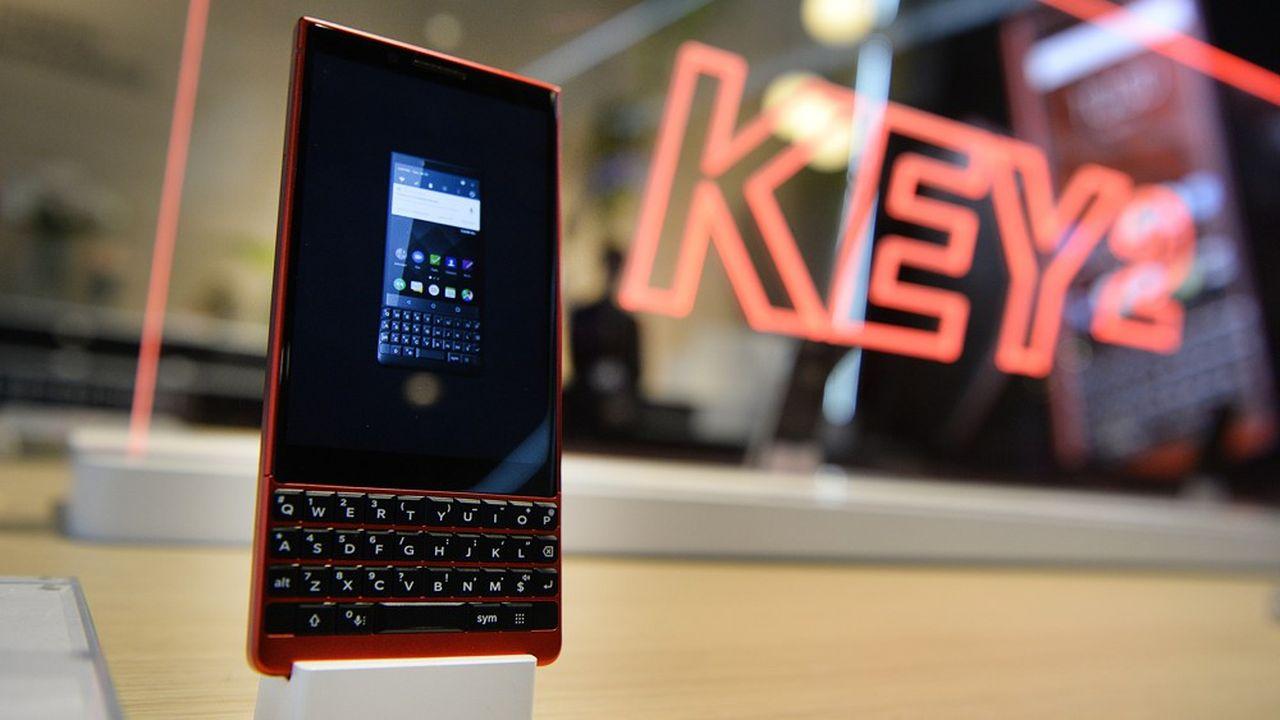 Le Key2, le dernier téléphone BlackBerry, avait été lancé en 2018 par le chinois TCL.