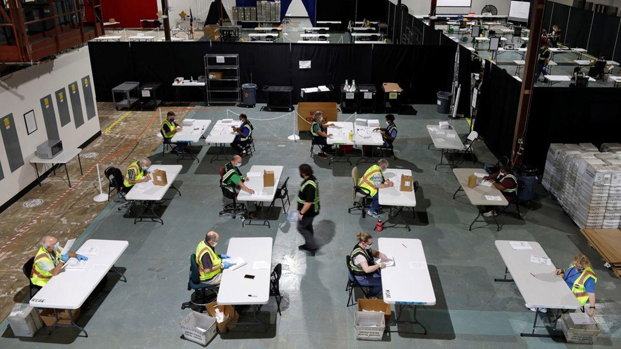 Alors que l'objectif initial était de recruter 250.000 candidats, 350.000 Américains se sont déjà portés volontaires.