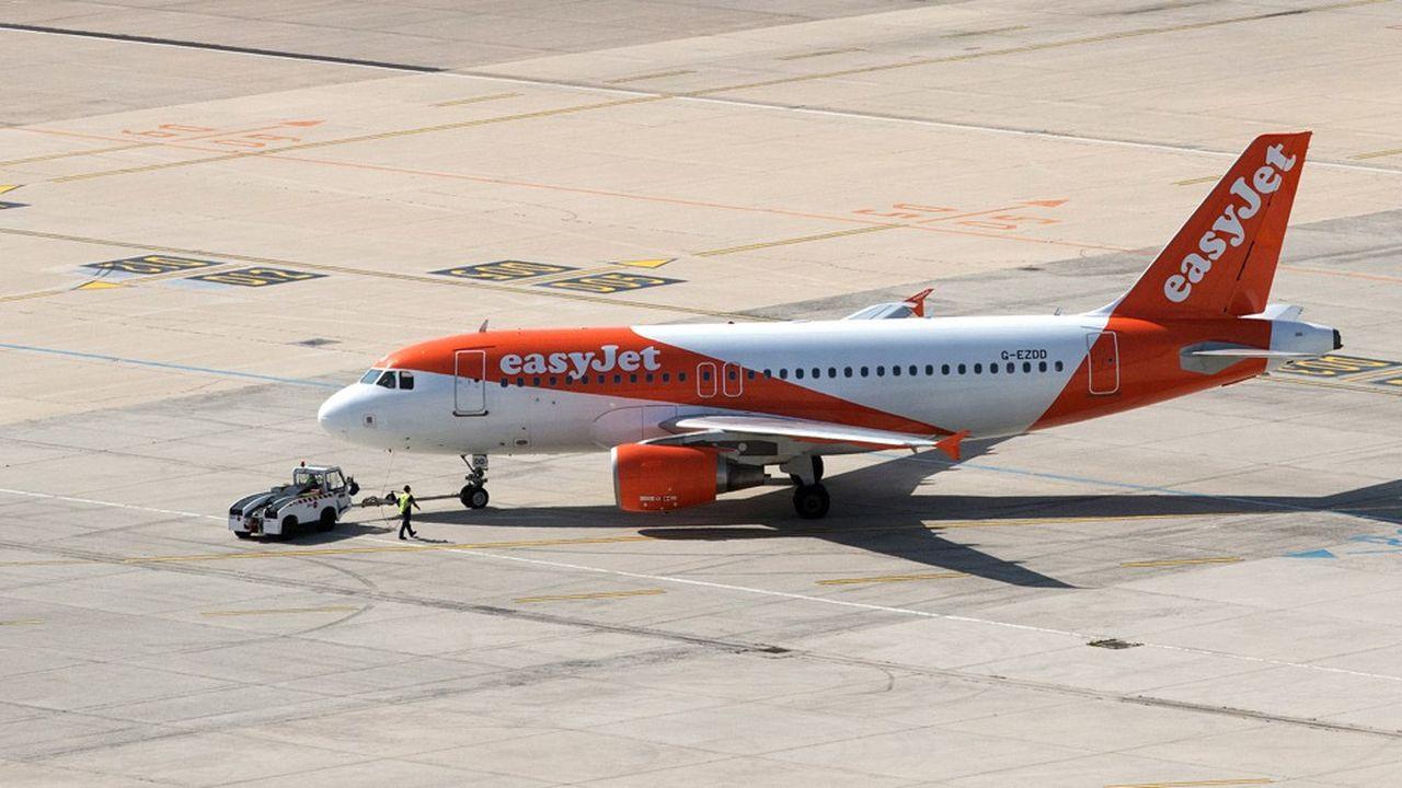 Les avions d'easyJet ont fait le plein de touristes en juillet, mais le mois d'août s'est finalement avéré décevant.