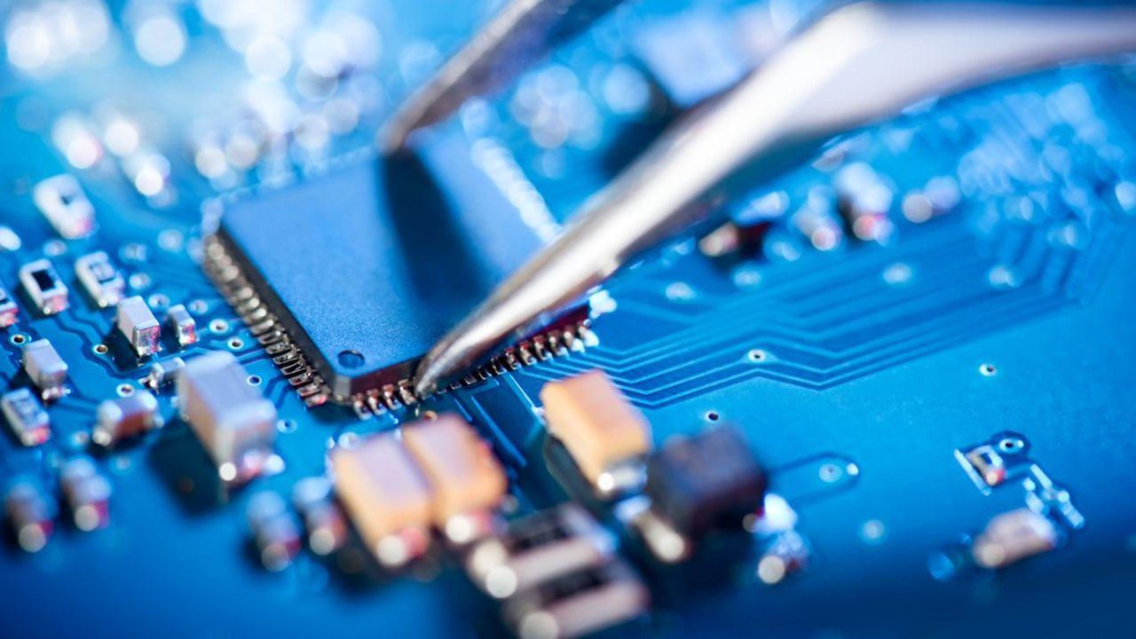SMIC est le cinquième plus gros fabricant mondial de circuits électroniques intégrés.
