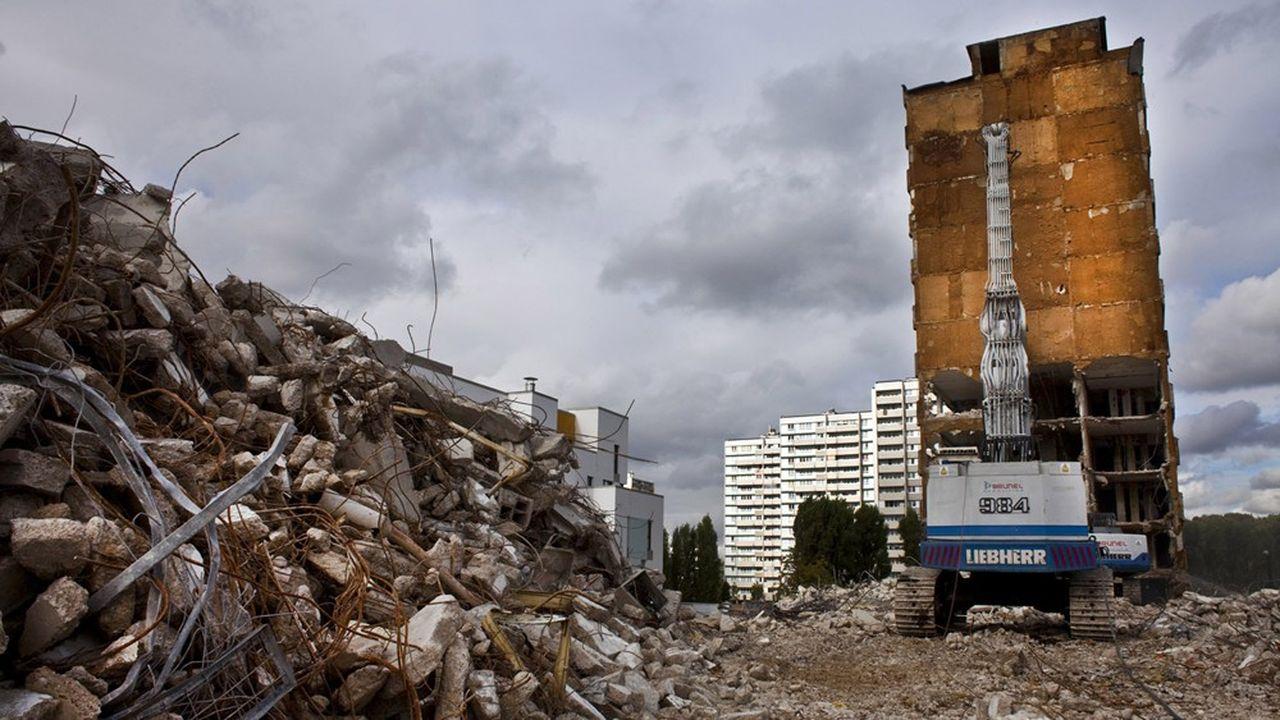 Un programme de rénovation de quartier défavorisé piloté par l'Agence nationale de rénovation urbaine.