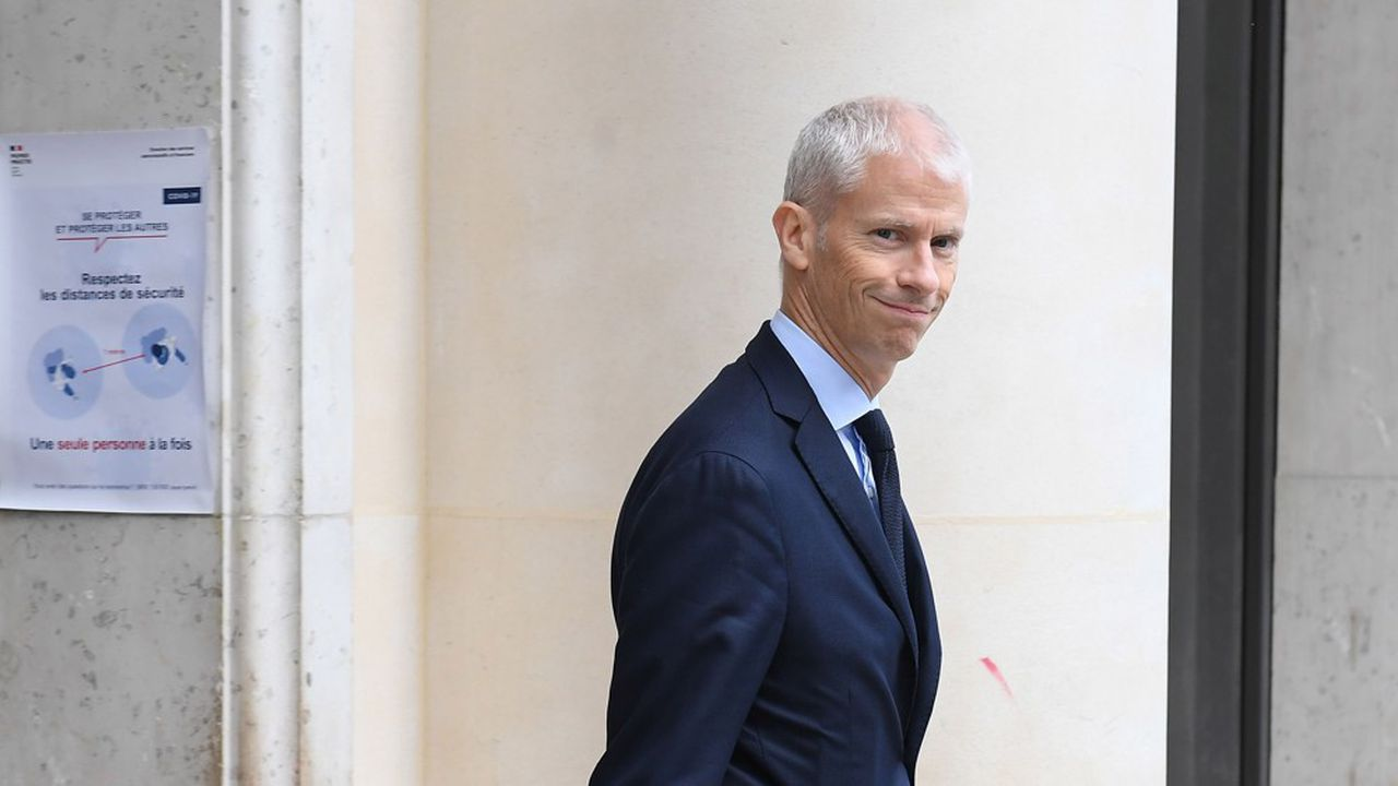 Franck Riester, ministre délégué au Commerce extérieur et à l'attractivité, a annoncé des aides pour les jeunes embauchés à l'étranger.