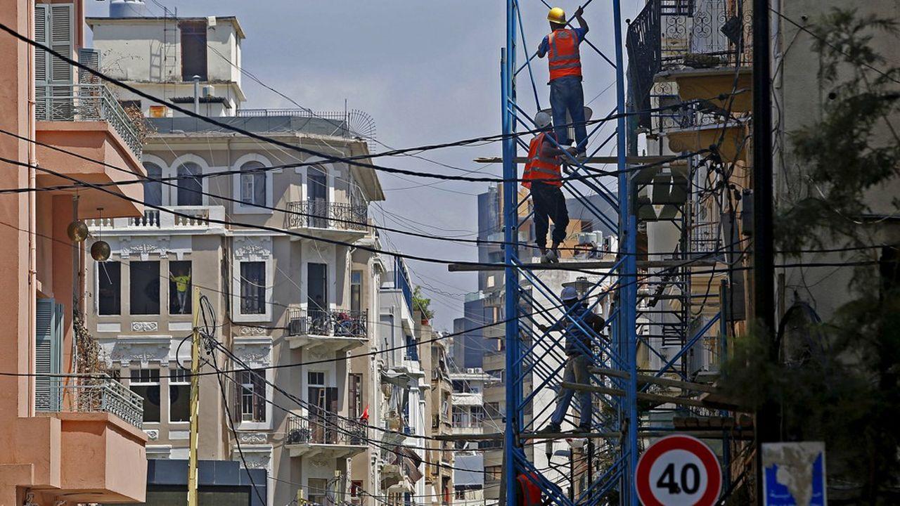 A Beyrouth, la reconstruction après l'explosion du 4août aiguise les appétits des promoteurs immobiliers.