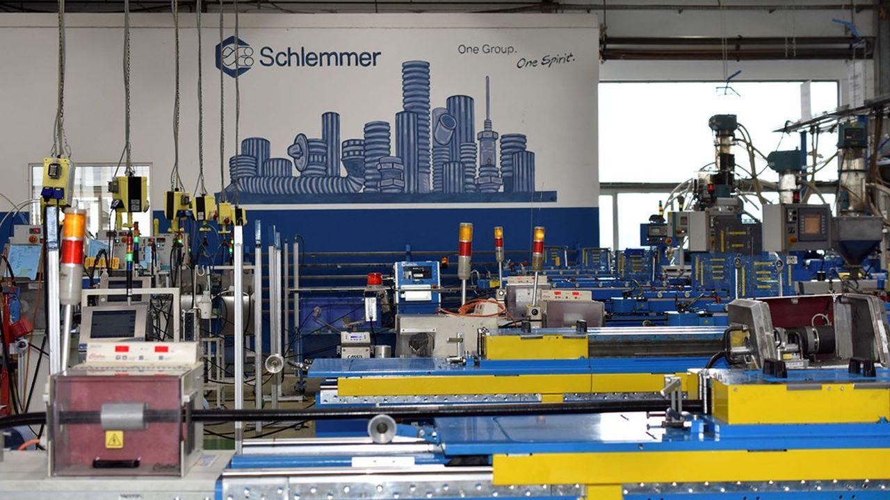 Le site d'Hassfurt, en Allemagne, est l'un des cinq sites de Schlemmer repris par le français Delfingen.
