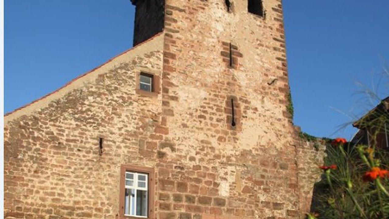 La tour-porte dite Niederthoturm de Wangen date du XIIIe siècle