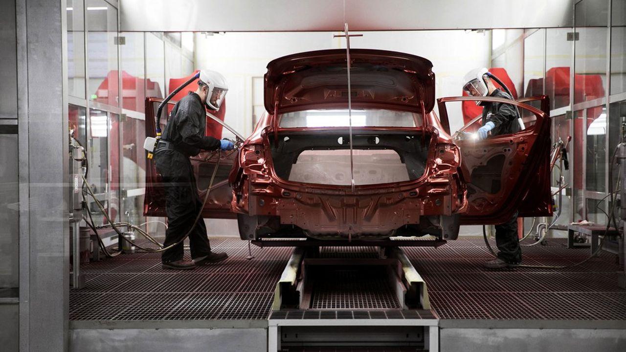 L'usine Honda de Marysville, dans l'Ohio. Le protocole d'accord avec GM prévoit une coopération en Amérique du Nord en matière d'achats et de plateformes de véhicules.