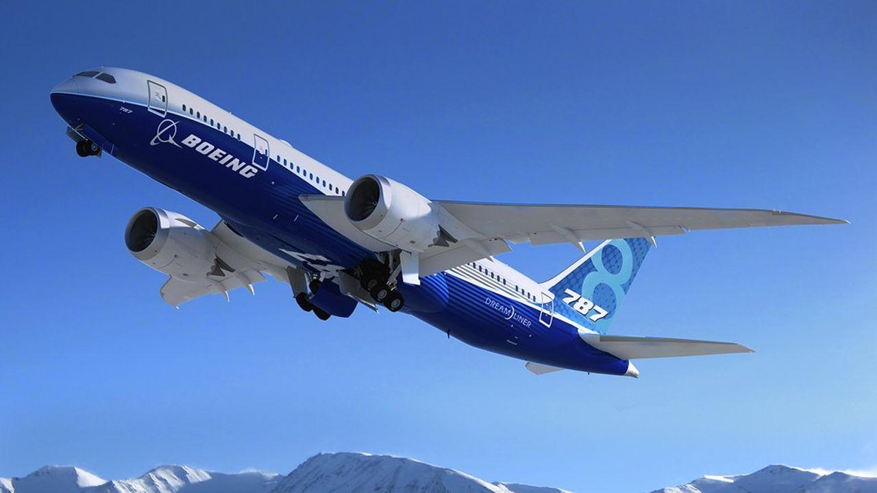 Le 787 est la principale source de recettes de Boeing aviation commerciale.