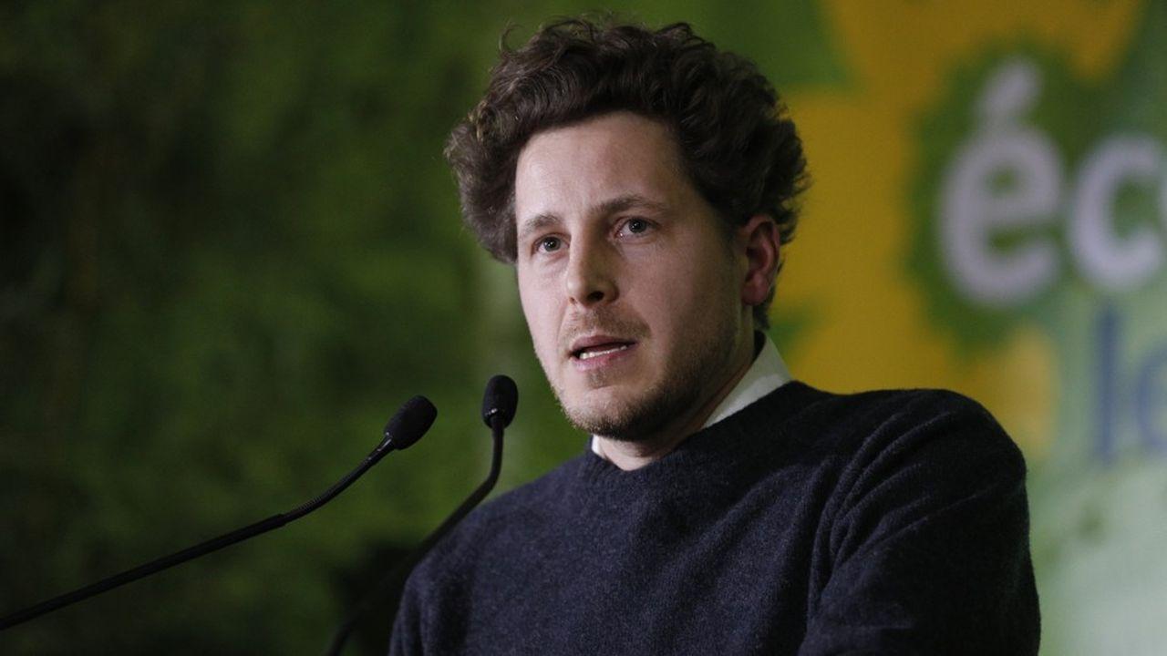 Julien Bayou, le secrétaire national d'Europe Ecologie-Les Verts