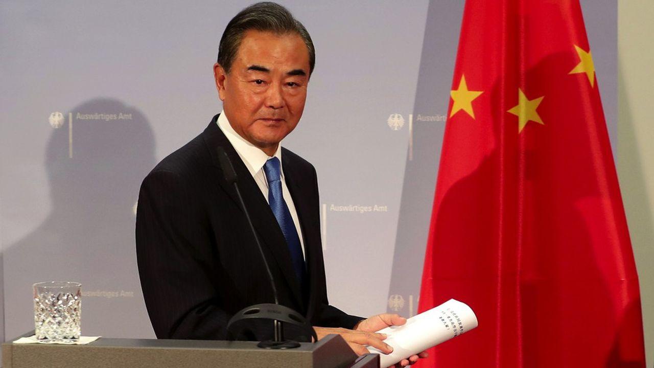 Wang Yi, le ministre chinois des Affaires étrangères.