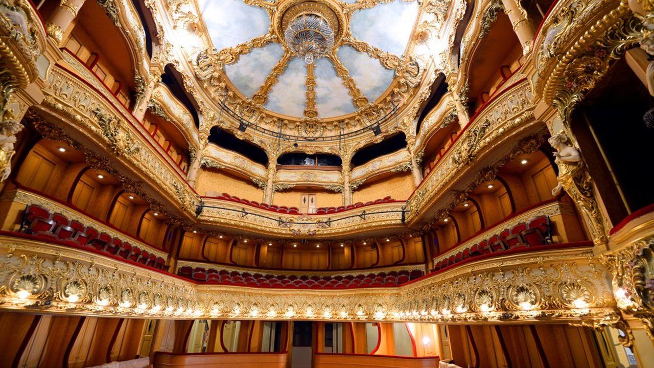 Une magnifique salle à l'italienne, très convoitée.