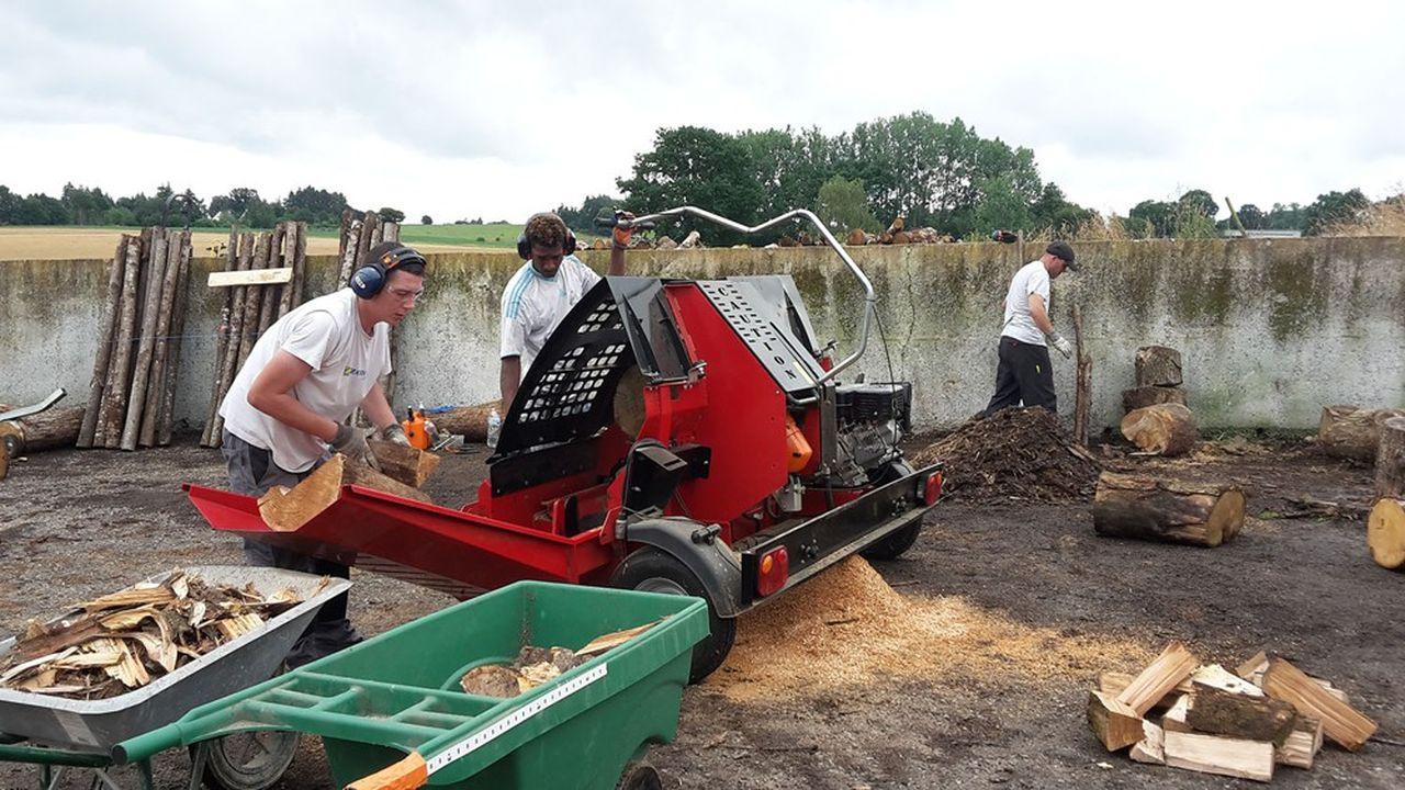 Sur le territoire de Pipriac-Saint-Ganton, une trentaine d'activités a été lancée pour récupérer un volume d'heures de travail suffisant.