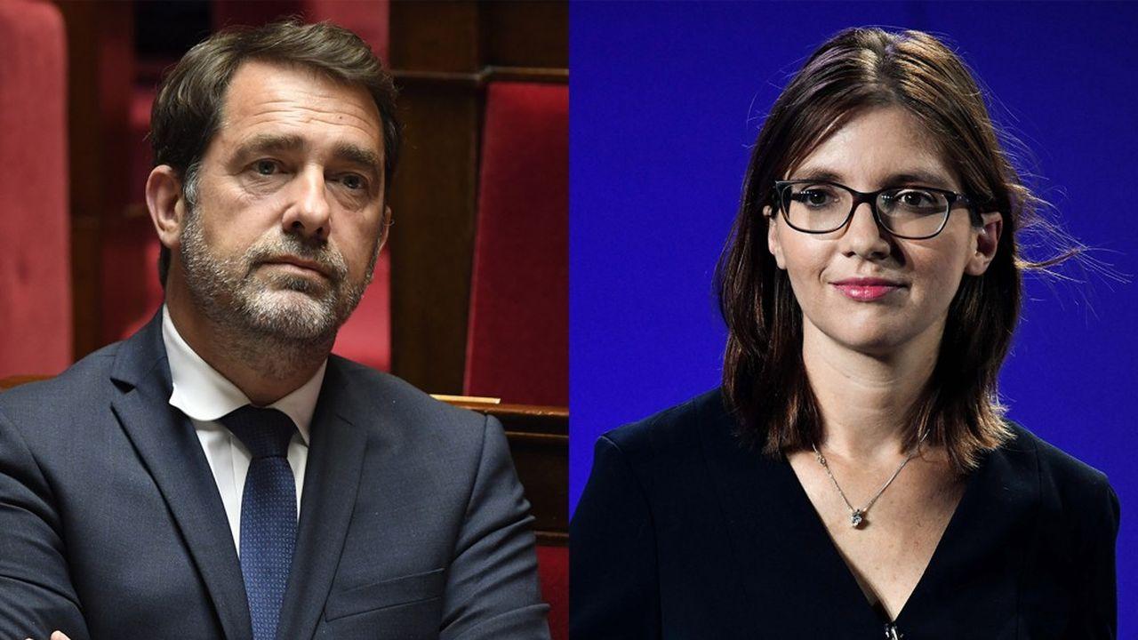 Selon les pronostics, la présidence du groupe LREM à l'Assemblée nationale va se jouer entre Christophe Castaner, l'ancien ministre de l'Intérieur, et la députée Aurore Bergé.