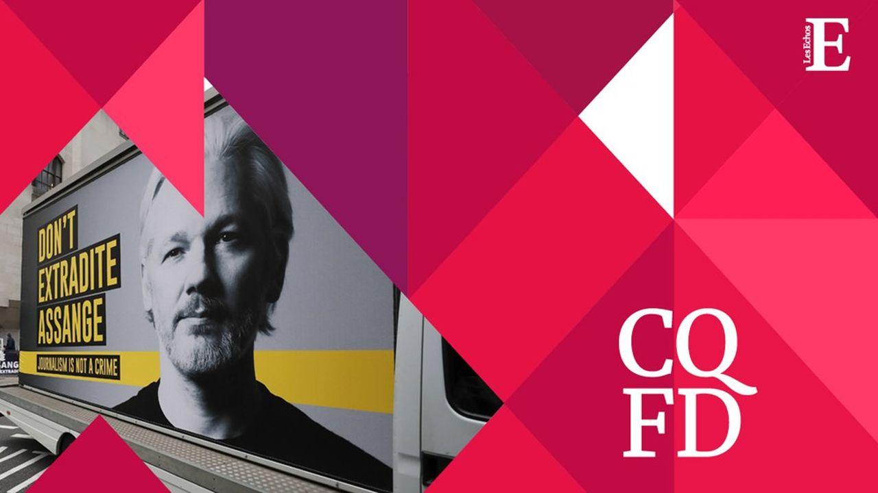Julian Assange est détenu depuis avril2019 dans une prison de haute sécurité britannique.