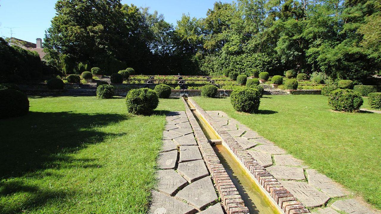 Après restauration, le parc devrait obtenir le label «Jardin remarquable».
