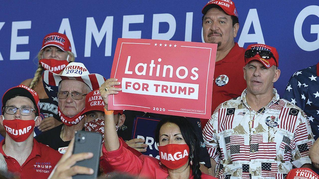 En 2016, le taux de participation des Hispaniques avait plafonné à 47,6%, contre 61,4% tous électeurs confondus.