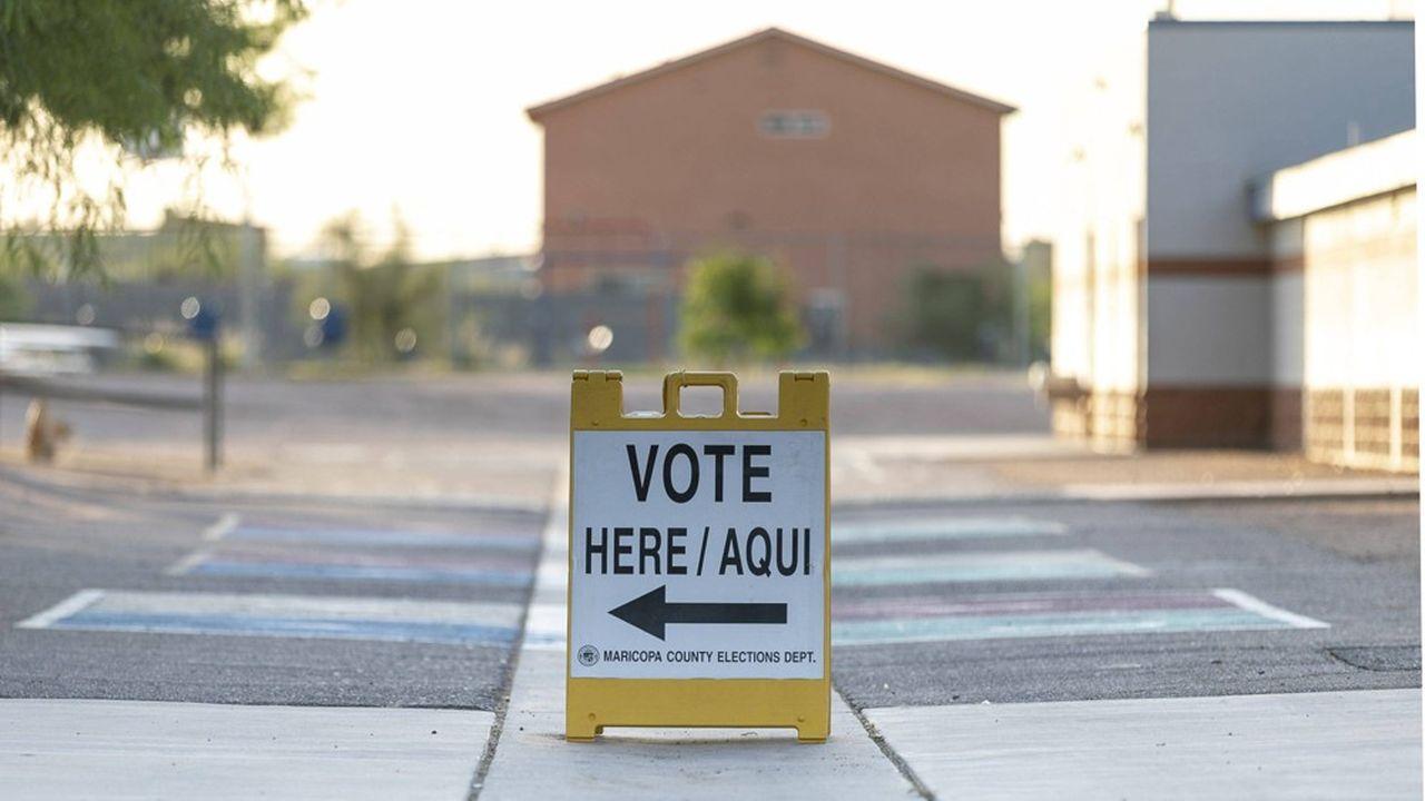 Journée électorale à Phoenix, le 4août 2020.