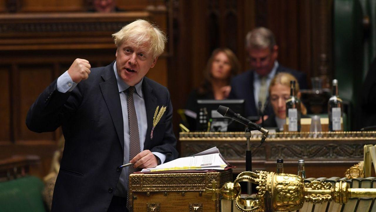 Ce projet de loi vise à «garantir la fluidité et la sécurité de notre marché intérieur britannique», a justifié le Premier ministre Boris Johnson mercredi devant les députés.