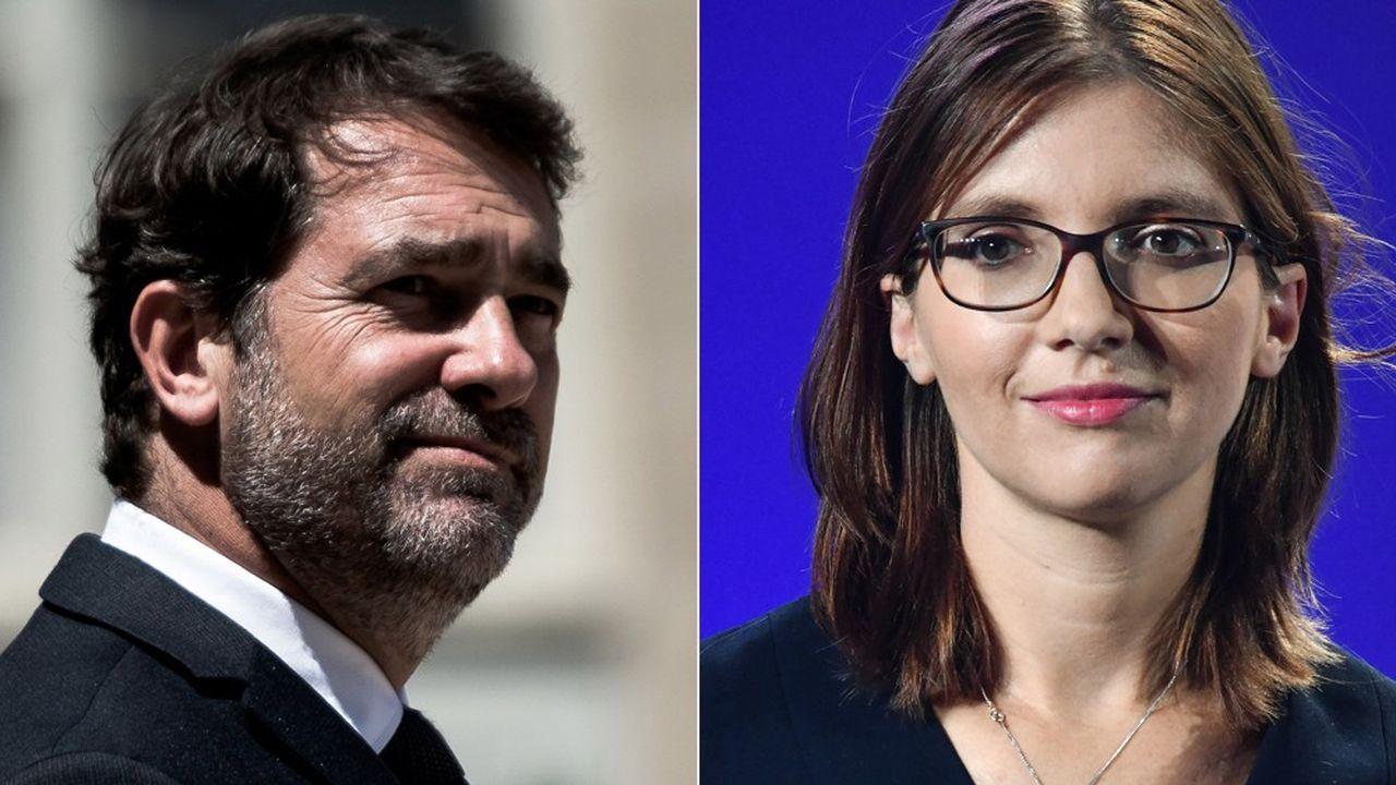 Christophe Castaner et Aurore Bergé s'opposeront pour le second tour pour devenir président(e) du groupe LREM à l'Assemblée nationale. Le premier est arrivé en tête du premier tour mais rien n'est joué.