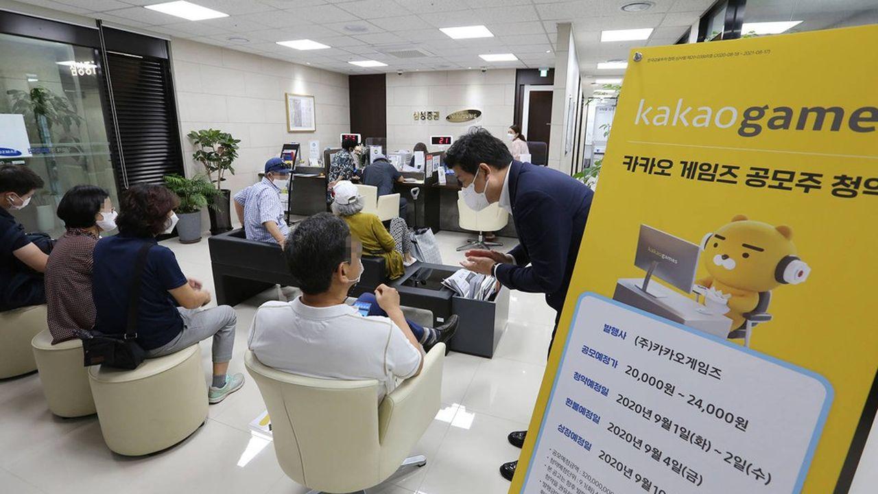 Dans un climat économique incertain, les petits actionnaires sud-coréens ont plutôt délaissé, ces derniers mois, les titres des grands industriels du pays pour miser massivement sur les sociétés technologiques.