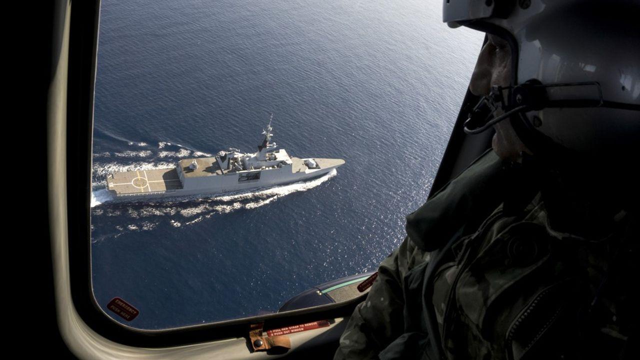La France a envoyé fin août en Méditerranée orientale la frégate « La Fayette » et trois avions de combat Rafale de l'armée de l'Air. Les forces françaises accompagnent des navires et aéronefs chypriotes, grecs, français et italiens.