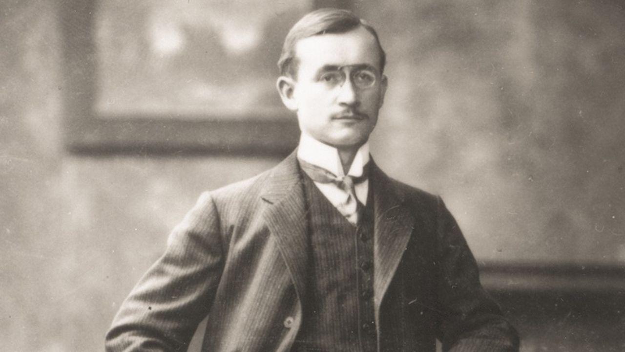 Otto Röhm, pharmacien, chimiste, inventeur et entrepreneur.