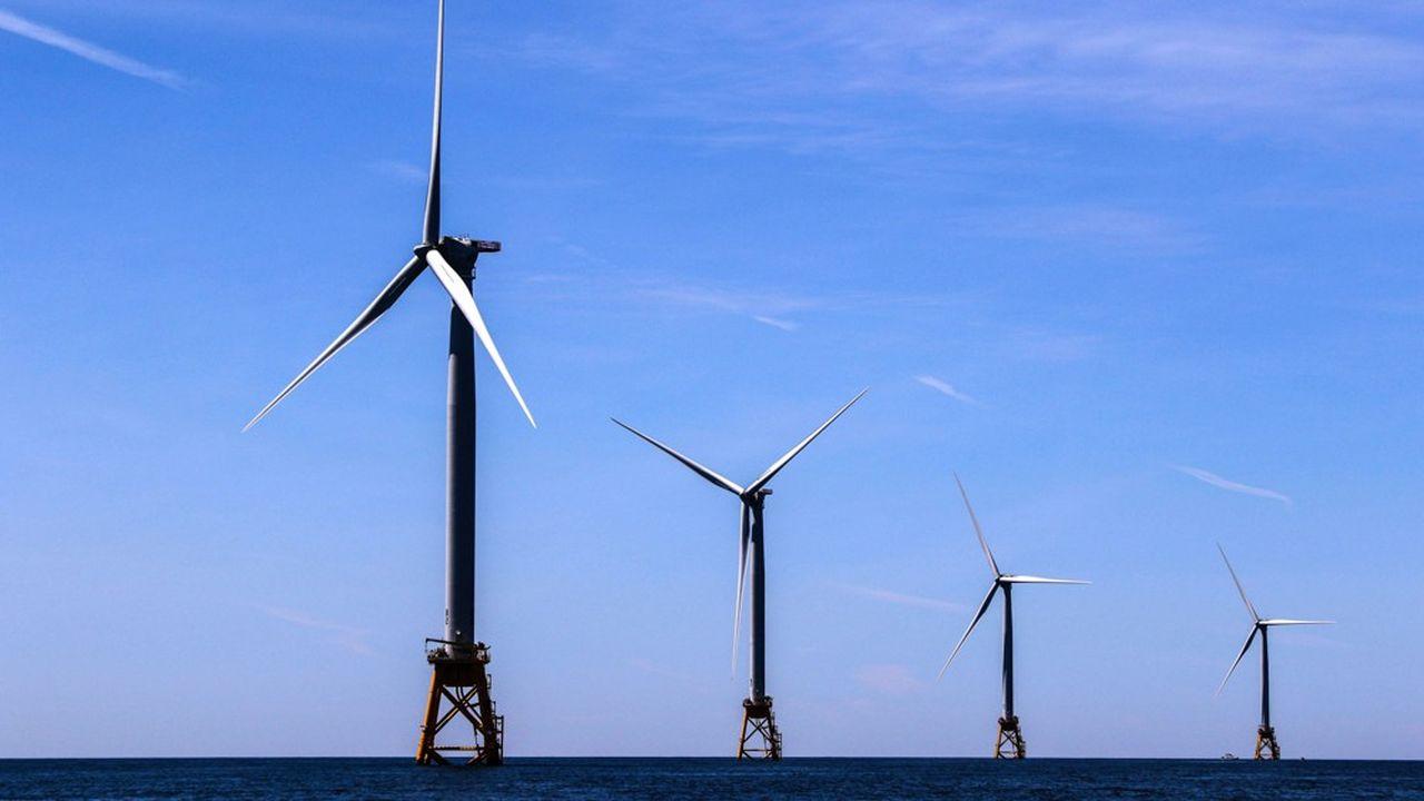 Une fois achevés, les deux sites d'éoliennes en mer devraient pouvoir produire de l'électricité pour alimenter plus de 2millions de foyers.