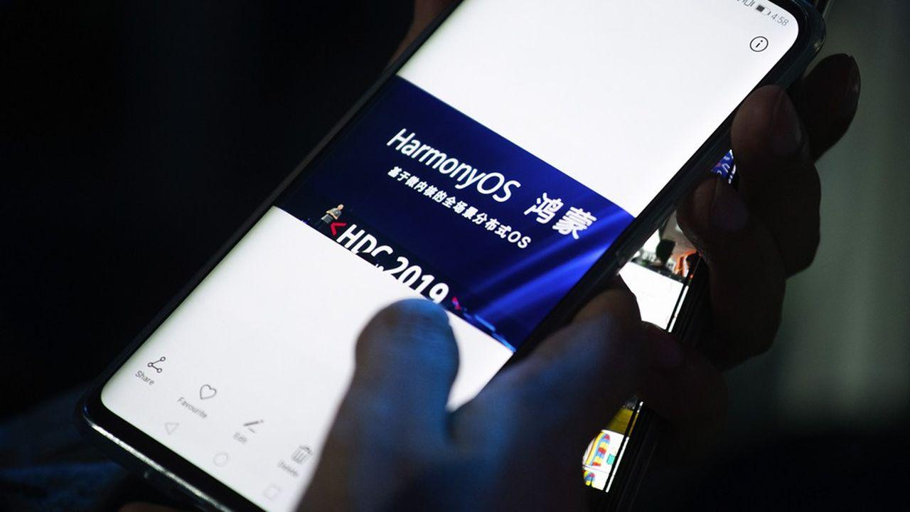 Harmony, le système d'exploitation pour mobiles de Huawei, avait été lancé pour la première fois en 2019.