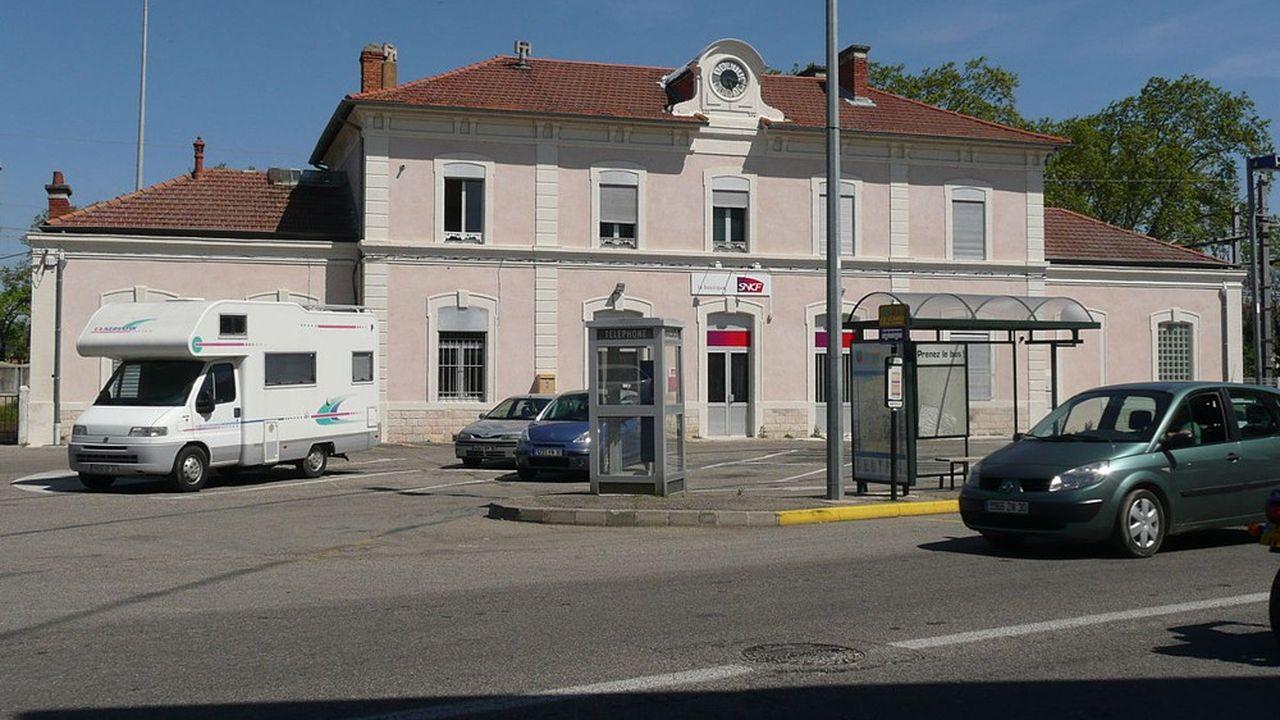 La gare de Bagnols-sur-Cèze