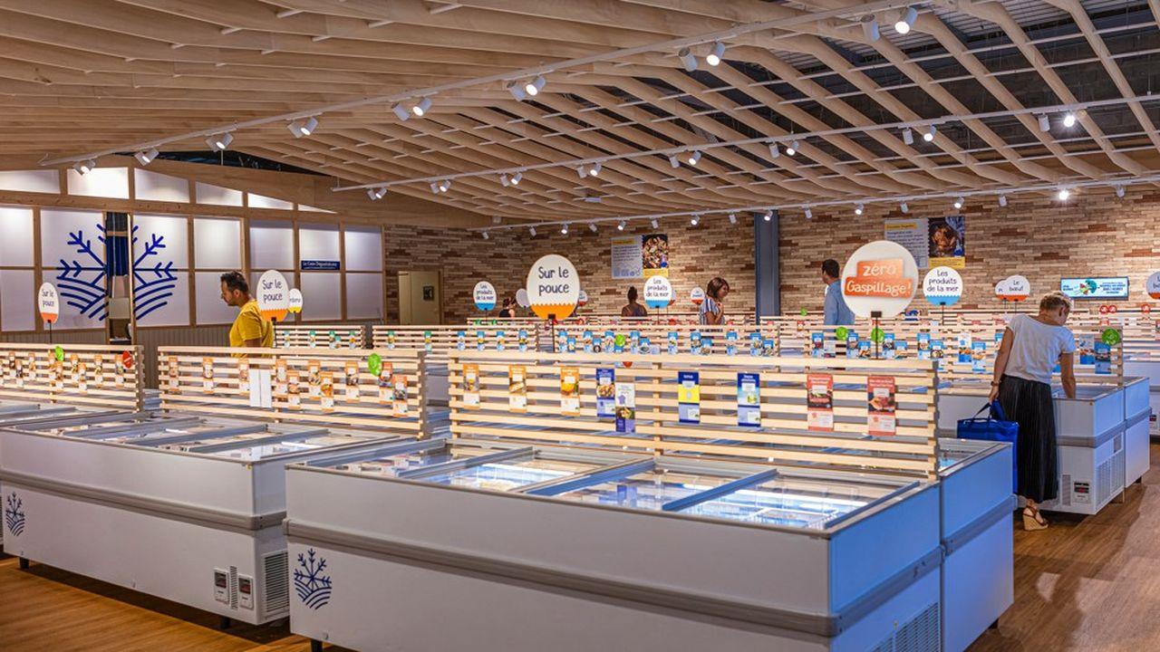 Les magasins Ecomiam proposent uniquement des produits alimentaires fabriqués en France.